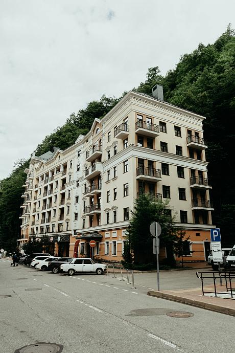 Valset Apartments by AZIMUT Rosa Khutor Hotel exterior view